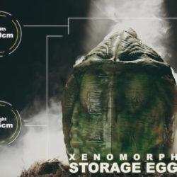 Xenomorph storage egg reacts to you