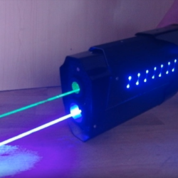 Some of the best hand built lasers and guns you'll ever see
