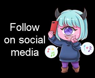 Follow the blog on social media
