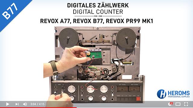 Youtube Vorschau Einbauvideo B77
