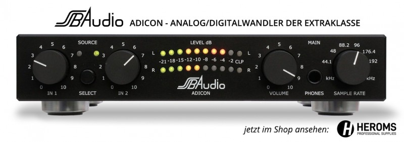 SSB Audio ADICON Analog-/Digitalwandler