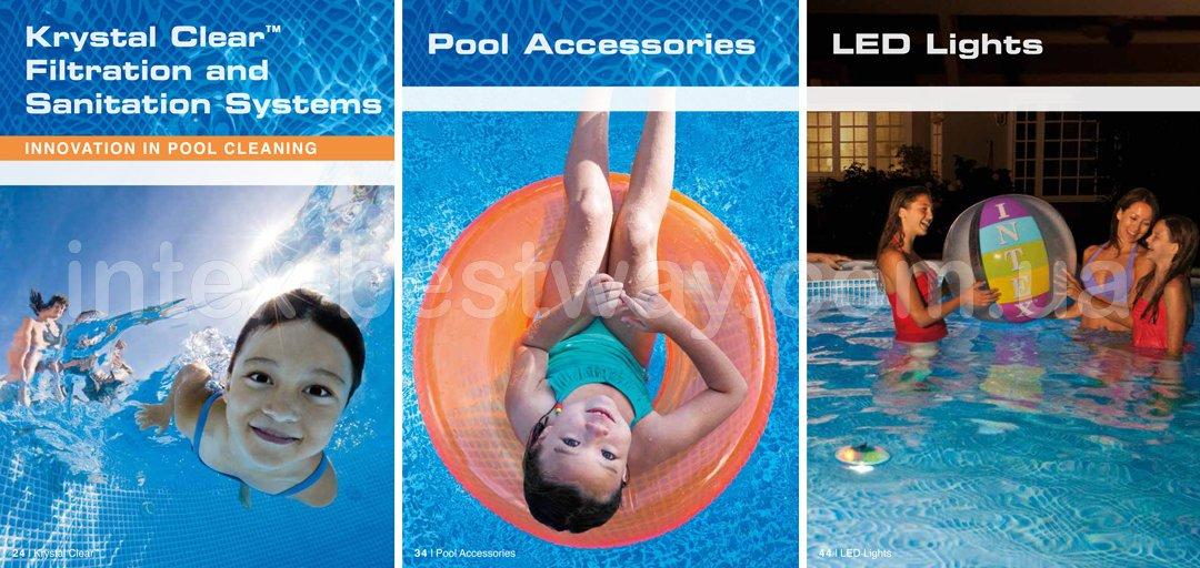 Фильтрационное оборудование для бассейнов, аксессуары для бассейнов, освещение для бассейнов