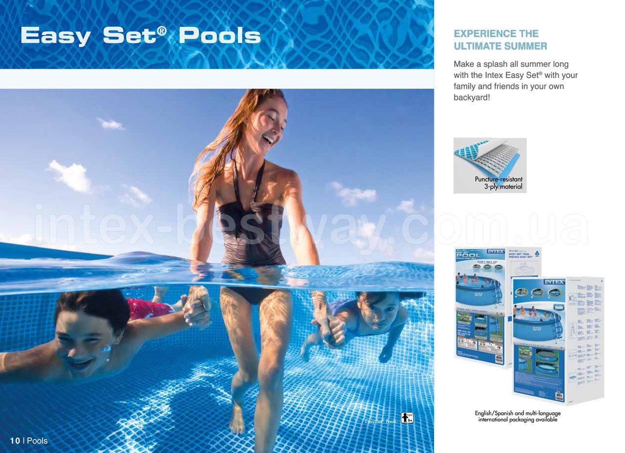 Надувные бассейны Intex Easy Set Pools