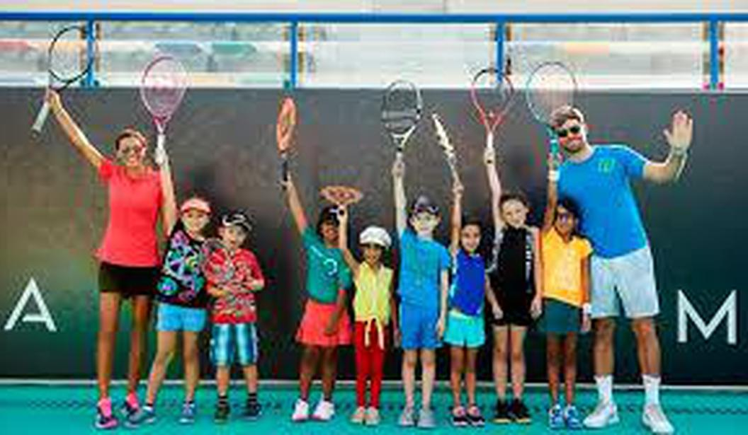 Tennis Lessons with Zayed Sports City Academy @ Abu Dhabi