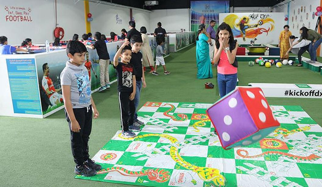 Giant Snakes and Ladders @ Dubai