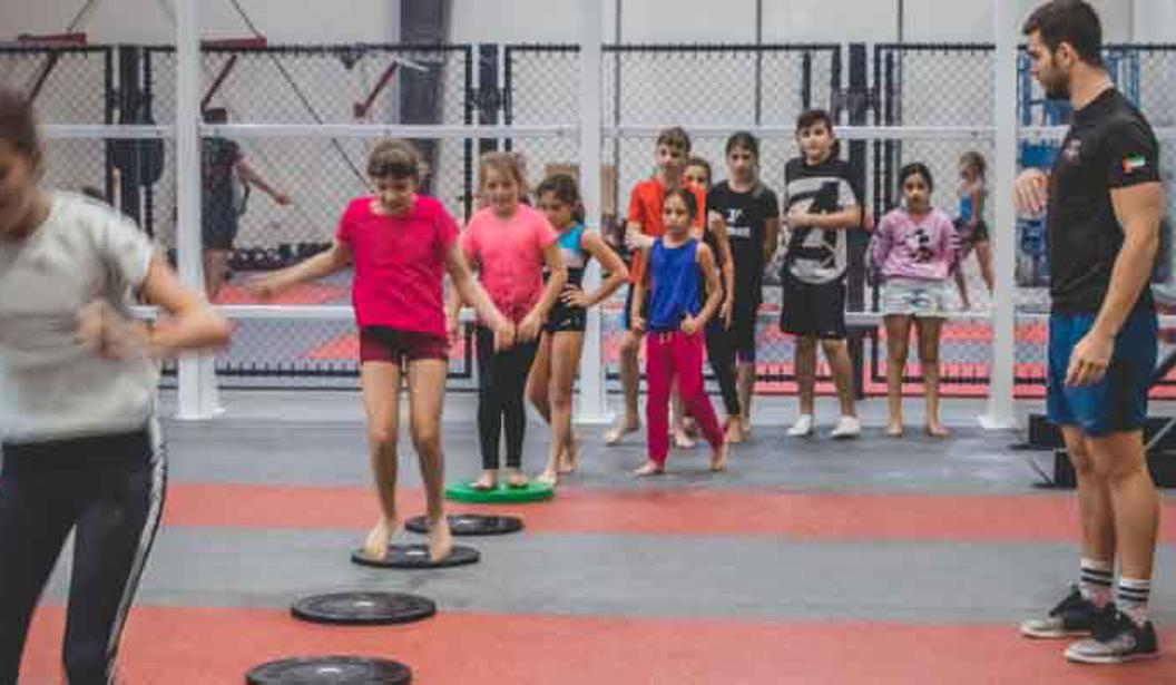 Kids CrossFit @ Fly High Fitness @ Dubai