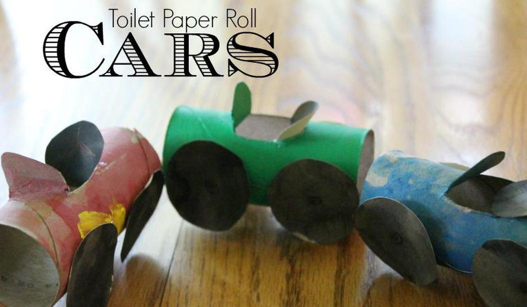 Toilet Roll Crafts: Cars @ Dubai