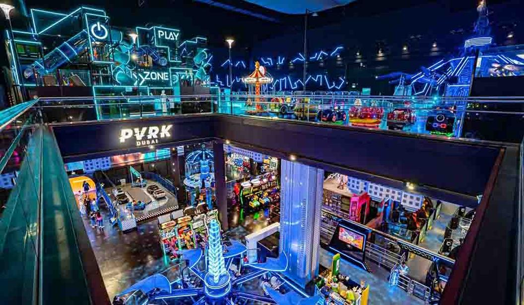AED 45 for VR Park Super7 Pass @ Dubai