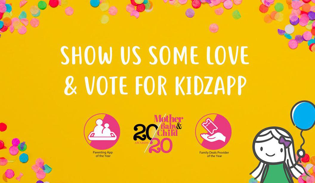 Vote For Kidzapp: MBC Awards 2020 @ Dubai