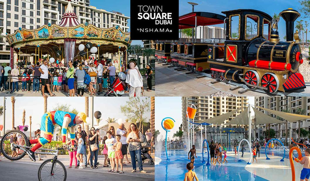 Town Square Dubai Park - Best Family Destination to Explore @ Dubai