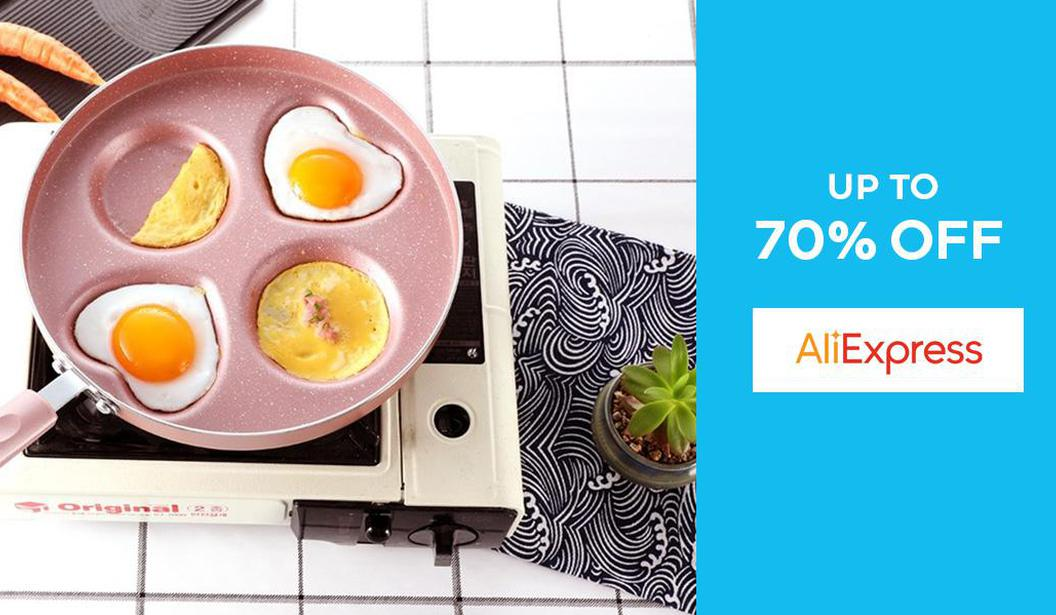 Up to 70% off Ali Express @ Dubai, Deal, Offer, Coupon, Discount, Book