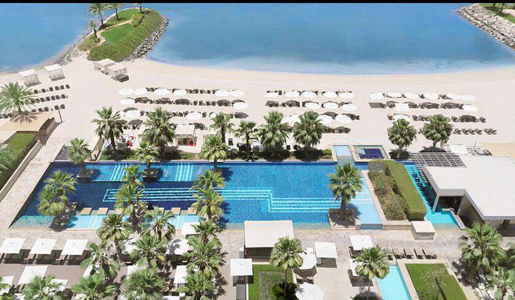 Pool & Beach at Fairmont Bab Al Bahr Abu Dhabi @ Abu Dhabi