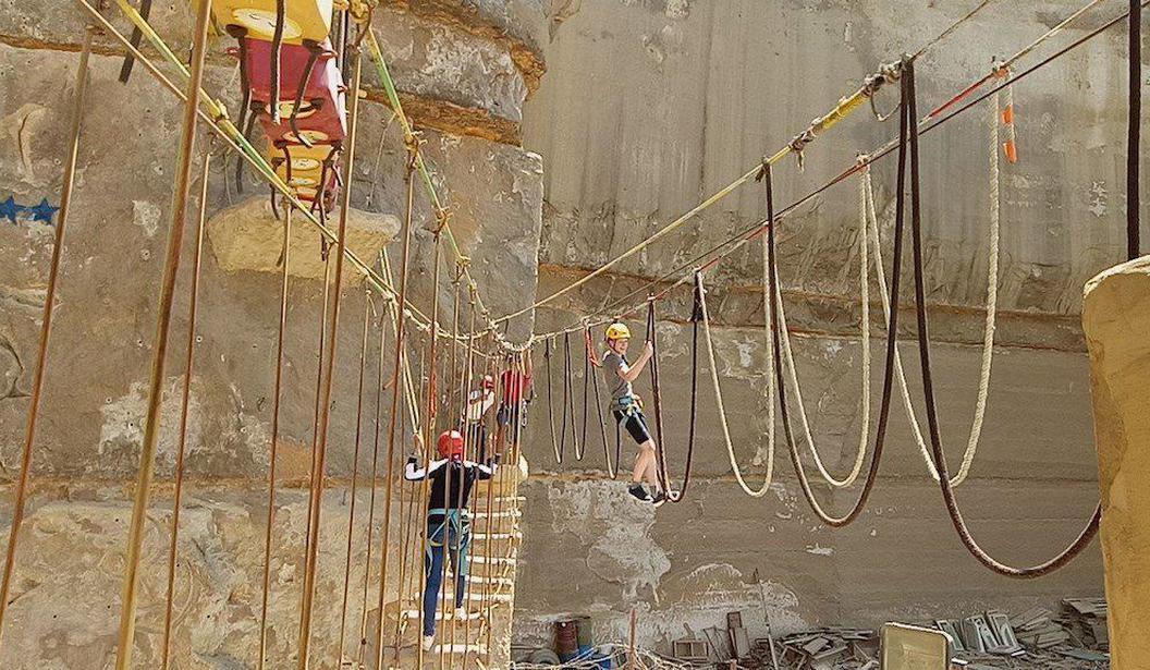 Ziplining in Al Muqattam   Kidzapp
