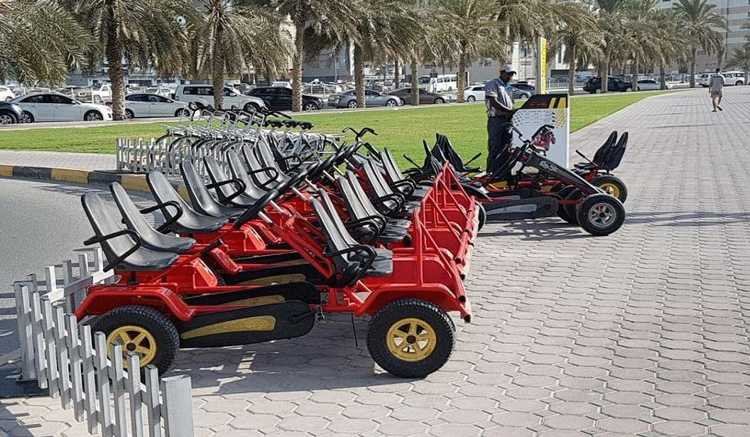 Rent Family Bikes & Karts by Byky @ Abu Dhabi