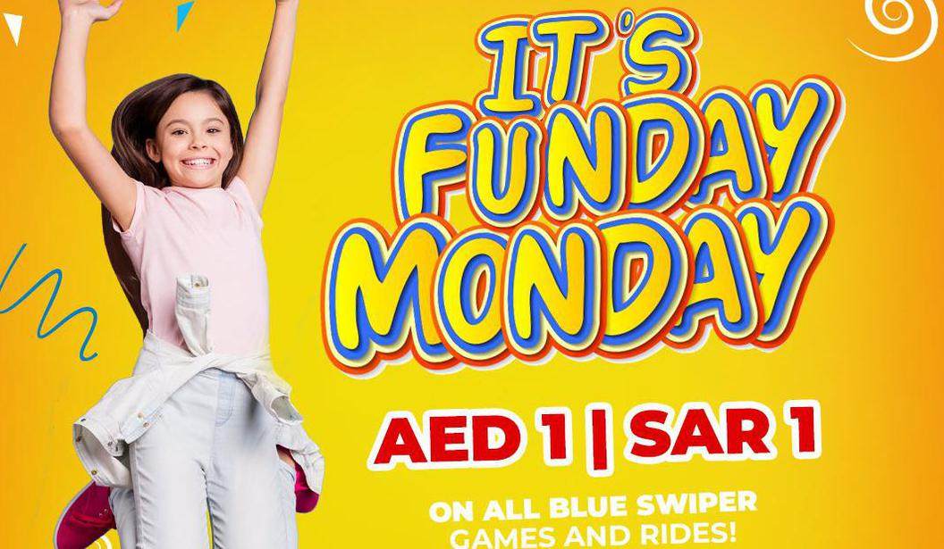 Funday Monday @ Fun City @ Dubai