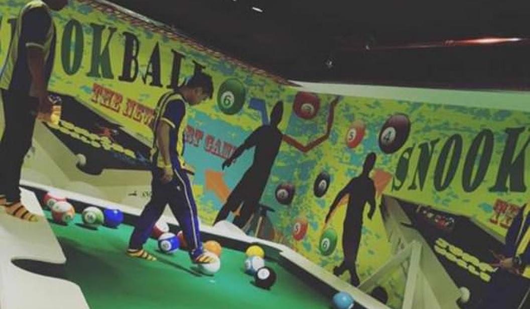 Snooker Ball @ Jump World @ Sharjah