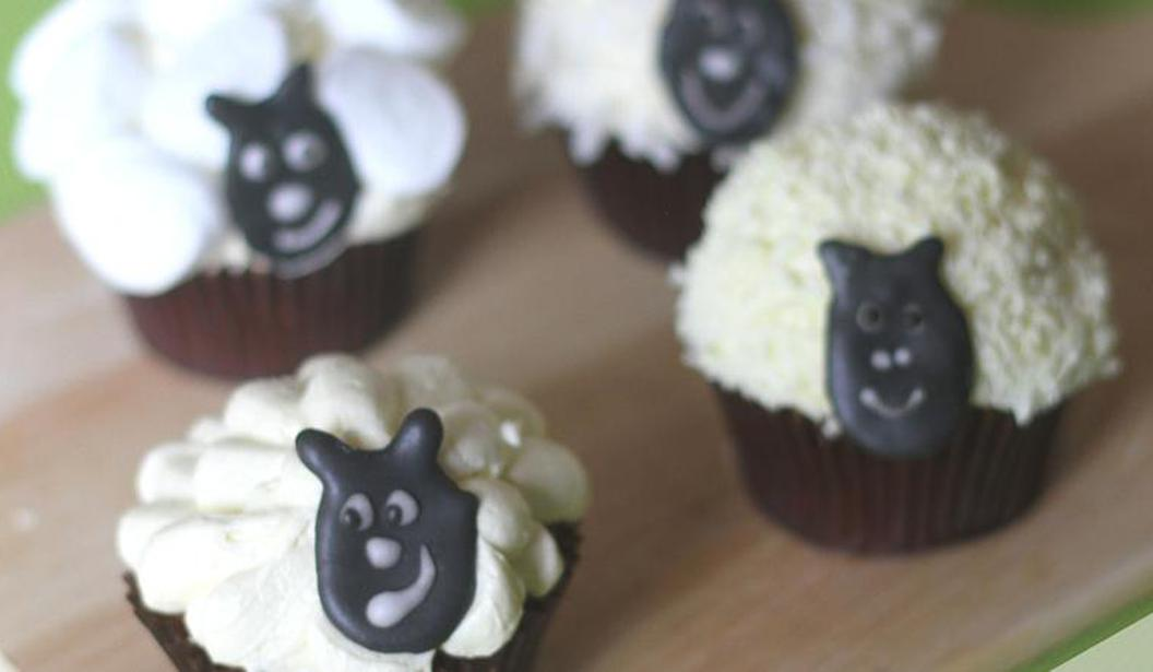 Eid Sheep Cupcakes @ Dubai