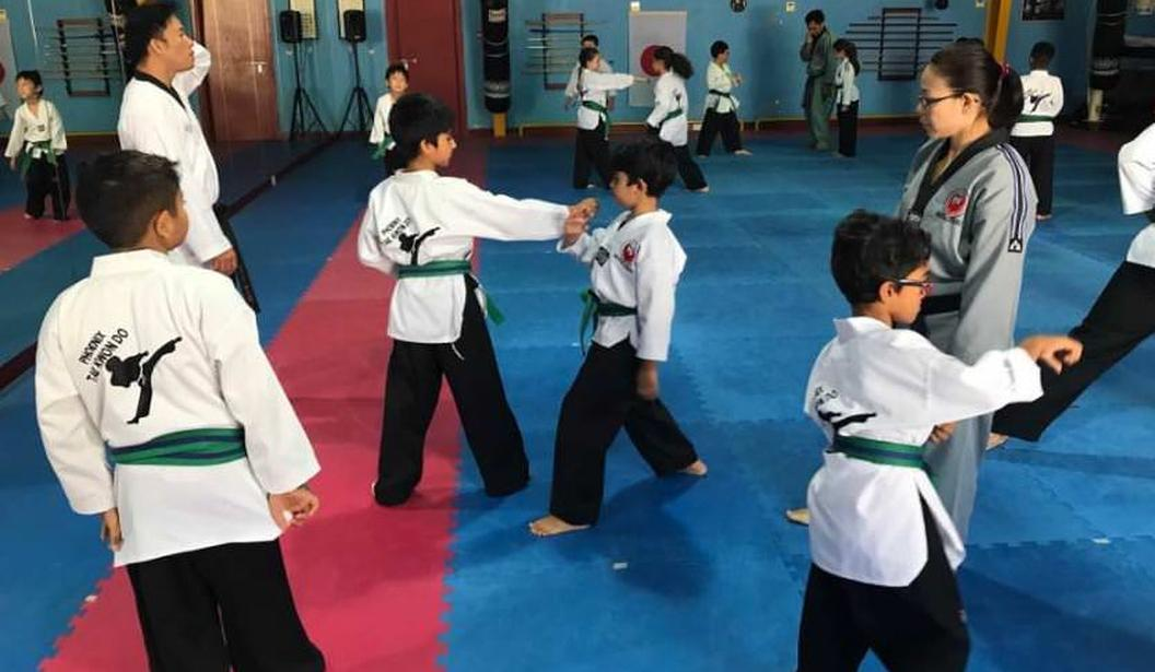 Tae Kwon Do Green Belt 11-16yrs @ Dubai