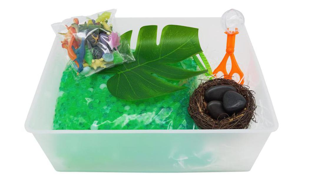 Dinosaur Sensory Bin by Elbirg @ Dubai, Deal, Offer, Coupon, Discount, Book