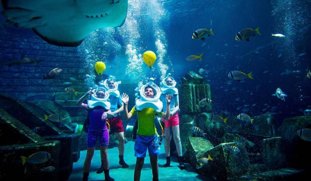Aquatrek at Ambassador Lagoon Atlantis The Palm @ Dubai