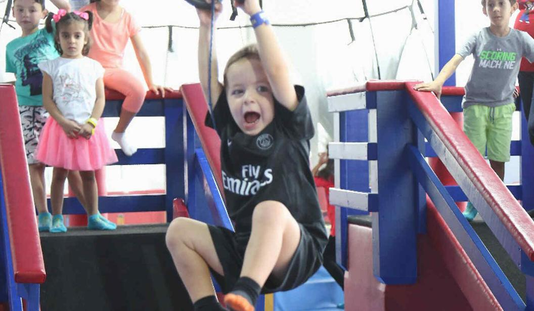 Bring A Friend For FREE @ WRTS Kid's Gym @ Dubai