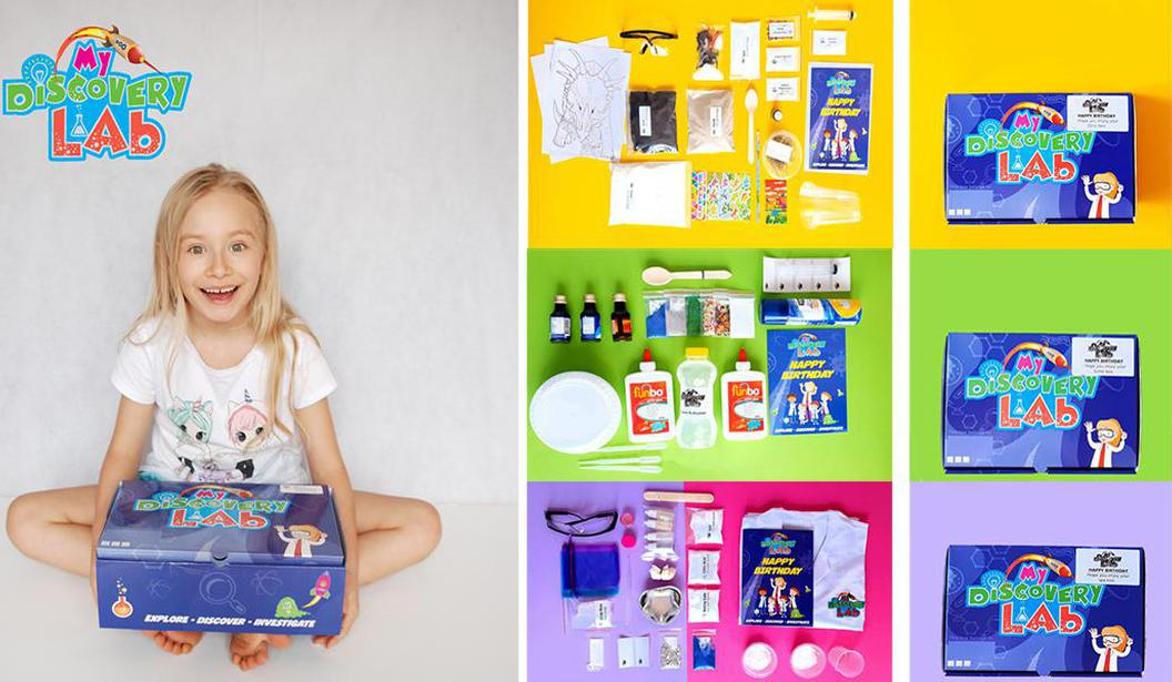 20% off Science Summer Boxes by My Discovery Lab @ Dubai