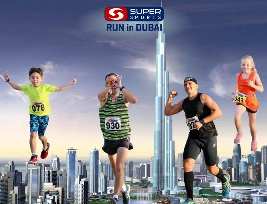 Super Sports Run in Dubai @ Dubai