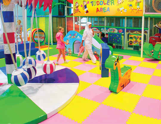 2hrs Play for AED65 @ Cheeky Monkeys @ Dubai