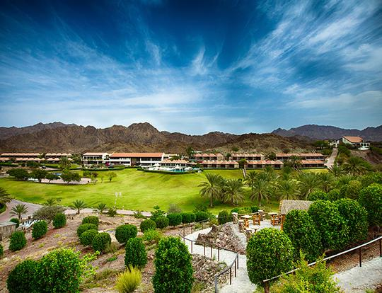 Mountain Escape @ JA Hatta Fort Hotel @ Dubai