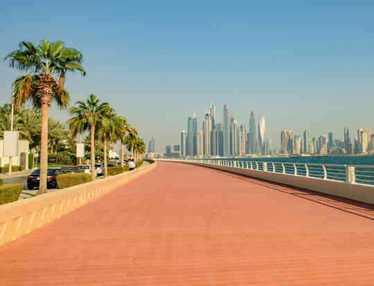 Palm Jumeirah Boardwalk @ Dubai