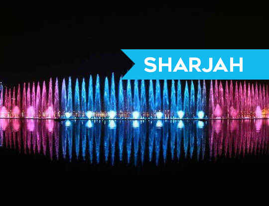 Musical & Laser Fountain Show @ Sharjah
