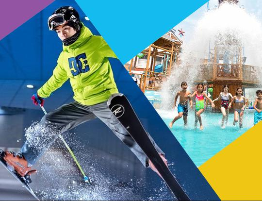 Mega Bundle: Ski Dubai, Laguna Waterpark, IMG Worlds of Adventure and more @ Dubai