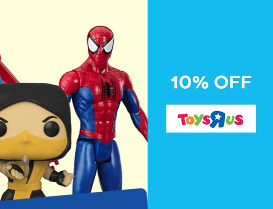 10% off Toys R Us @ Dubai