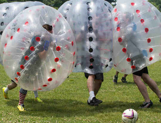 Bubble Soccer UAE @ Dubai