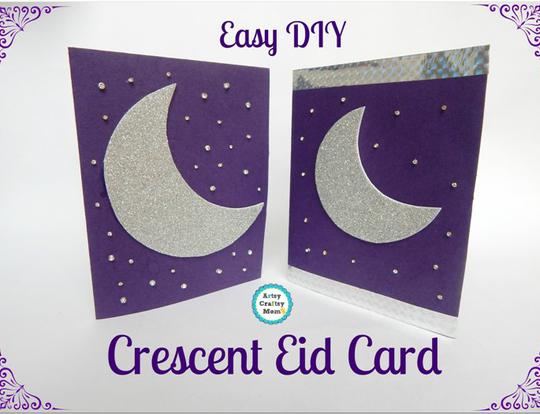 Crescent Eid Card @ Dubai