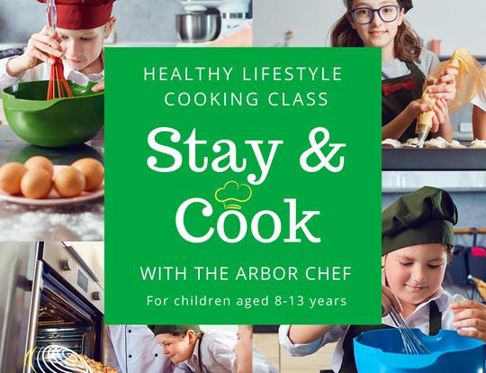 Stay & Cook Experience at the Arbor School @ Dubai
