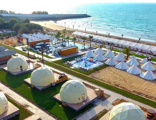 Glamping @ The Longbeach Campground @ Ras Al Khaimah