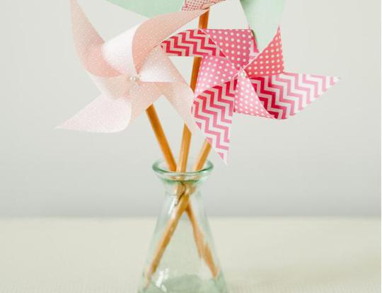 Easy Pencil Pinwheel @ Dubai