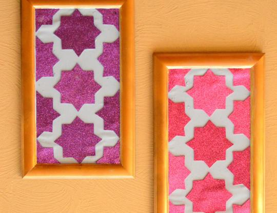 DIY Moroccan Wall Art @ Dubai