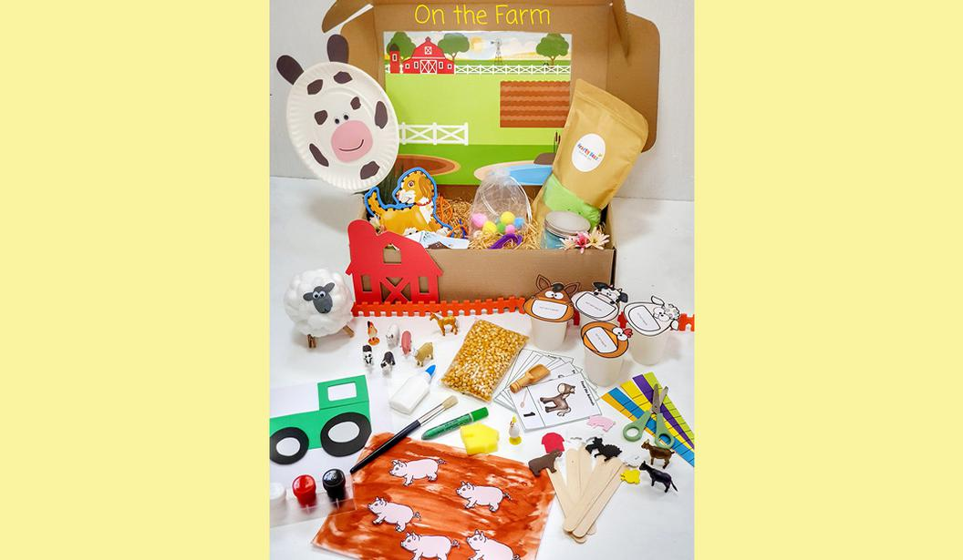 Themed Activity Boxes by Krafty Beez @ Dubai, Deal, Offer, Coupon, Discount, Book