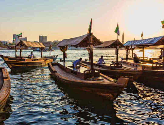 Traditional Abra Ride @ Dubai Creek @ Dubai