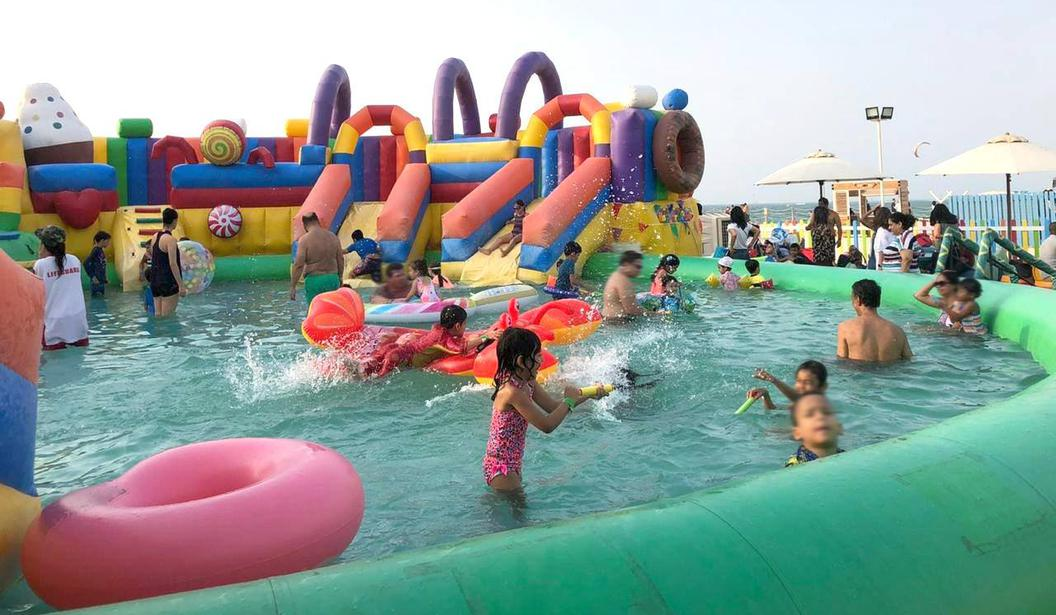 Splash N Party at Kite Beach @ Dubai