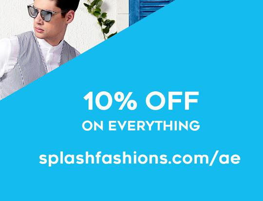 10% off Splash Fashions @ Dubai