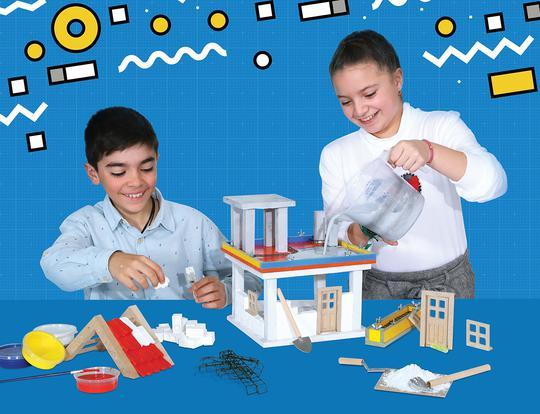 Build a Mini Home with Bildits - Advanced Kit @ Dubai