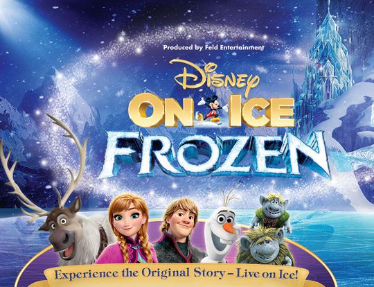 Disney On Ice presents Frozen @ Abu Dhabi