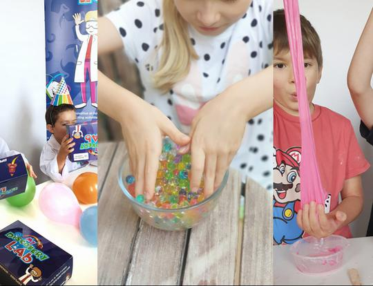 Parties & Playdates At Home with My Discovery Lab @ Dubai