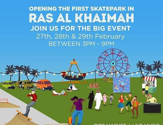 Grand Opening of First Skate Park in RAK @ Ras Al Khaimah