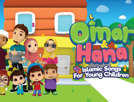 Omar & Hana- Islamic Cartoons for Kids @ Cairo