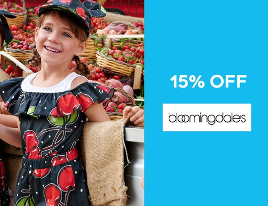 15% off Bloomingdales @ Dubai