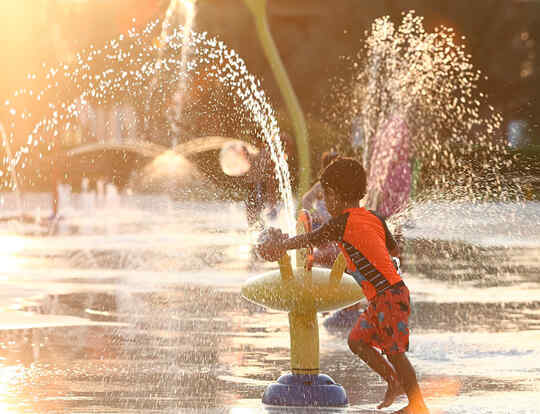 Mini Splash Park @ Sharjah
